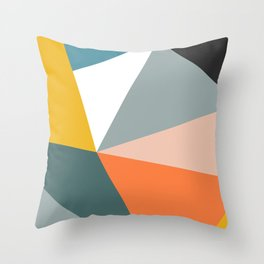 Modern Geometric 33 Throw Pillow