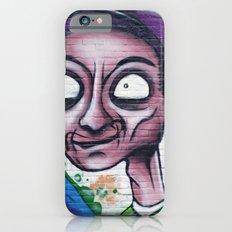 Purple, blue and green graffiti iPhone 6s Slim Case