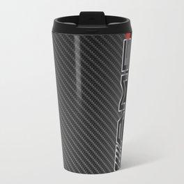 MercedesBenz Amg logo carbon Travel Mug