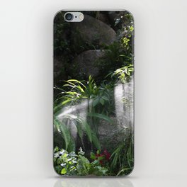 Garden watering iPhone Skin