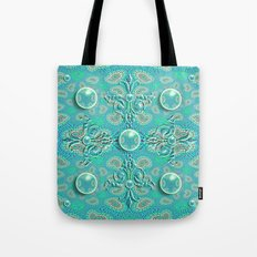 Royal Orbs Tote Bag