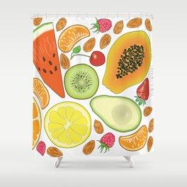 Fruits Shower Curtain