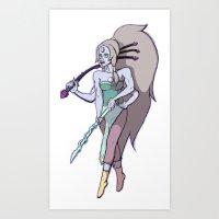 SU: Opal  Art Print