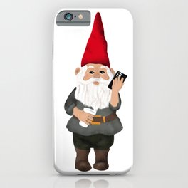 Hangin with my Gnomies - Working Gnome iPhone Case