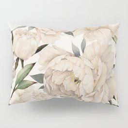 Peonies Pattern Pillow Sham