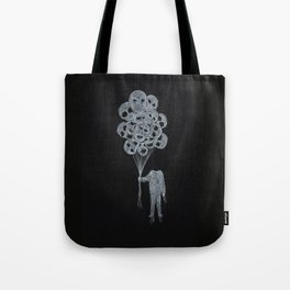 Balloon Man Tote Bag