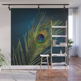 exotic feather  Wall Mural