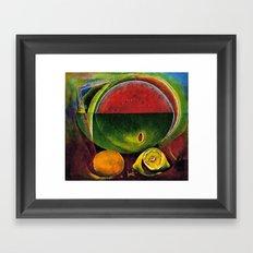 STROLLER Framed Art Print