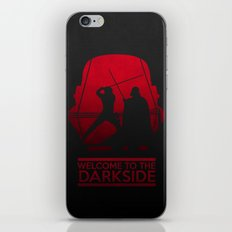 Welcome to the dark side iPhone & iPod Skin