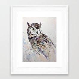 Vancouver Owl Framed Art Print