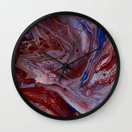 autonomy | fluid acrylics Wall Clock