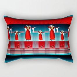 Armenian Dancers Rectangular Pillow