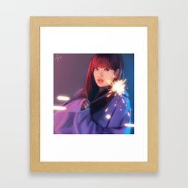 BLACKPINK Lisa Framed Art Print