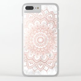 Pleasure Rose Gold Clear iPhone Case
