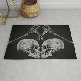 """""""Skull in Love"""" Rug"""