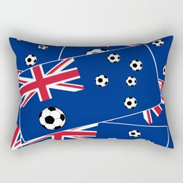 Australian Flag Football Rectangular Pillow