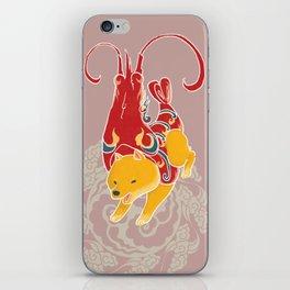 Prawn Funny Dog Costume - Sea Collection iPhone Skin