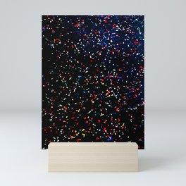 Concert Confetti Mini Art Print