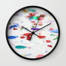 Confetti Sprinkle Wall Clock