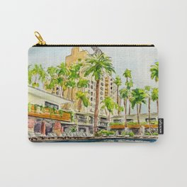 The Hollywood Roosevelt Pool Carry-All Pouch
