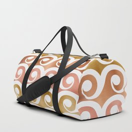 Mixed Metallic Waves Duffle Bag