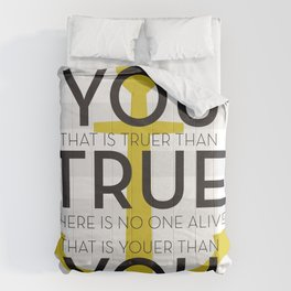 Youer Than You Comforters