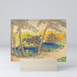 Tokurik Tomikichiro Scenes of Sacred Places and Historic Landmarks-Rokuonji Temple at Kinkaku Mini Art Print