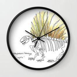 Earth Reptile Wall Clock