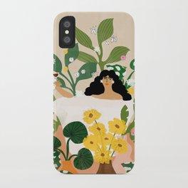 Self Care iPhone Case