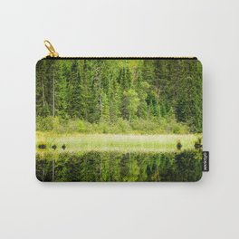 Green Reflections Carry-All Pouch