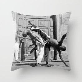 Capoeira c.1996 Throw Pillow