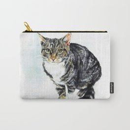 I wish my cat could talk Carry-All Pouch