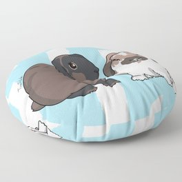 Oreo and Teddy Floor Pillow