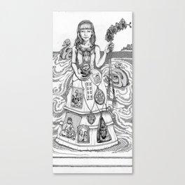 The debutante Canvas Print