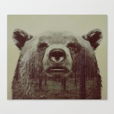 Bjørn Canvas Print