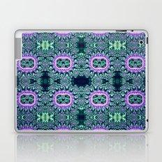 Purple & Teal Lace Laptop & iPad Skin