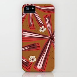 Marron iPhone Case