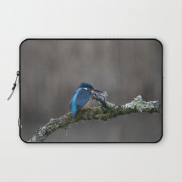 Kingfisher on a Branch Laptop Sleeve