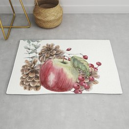 Winter Composition Rug