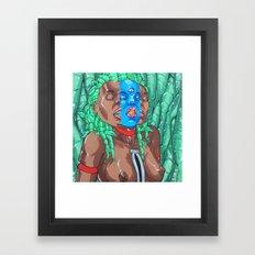 Rupture/Rapture Framed Art Print