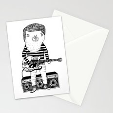 Guitar-Boy Stationery Cards