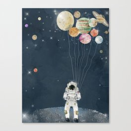 solar collector Canvas Print