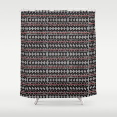 African Tribal Mudcloth Pattern Shower Curtain