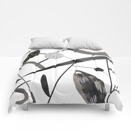 Abstract Botanica - 2 Comforters