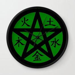Pentagram Wall Clock