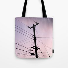 Lines Of Communication Tote Bag