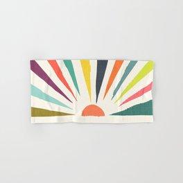 Rainbow ray Hand & Bath Towel