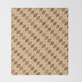 Navaho pattern Throw Blanket