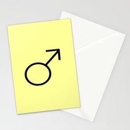 symbol of man 3 Stationery Cards