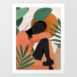 Tropical Girl 10 Art Print